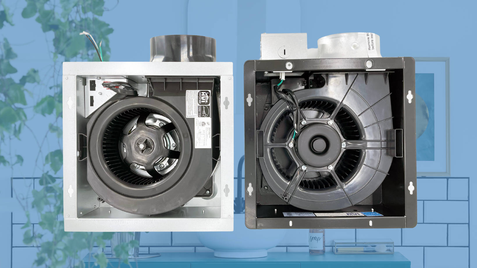 PCLP and PCLPXP: Which Low Profile Exhaust Fans To Use
